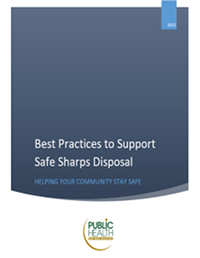 Best Practice to Support Safe Sharps Disposal