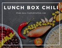 Lunch box chili recipe