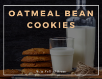 Oatmeal Bean Cookies recipe