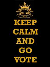 Keep Calm Just Vote