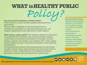 What is Healthy Public Policy