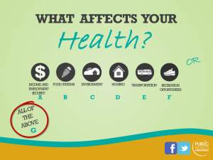 What Affects Your Health?