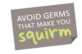 Logo for Avoid Germs that make you Squirm