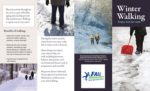 Winter Walking Brochure