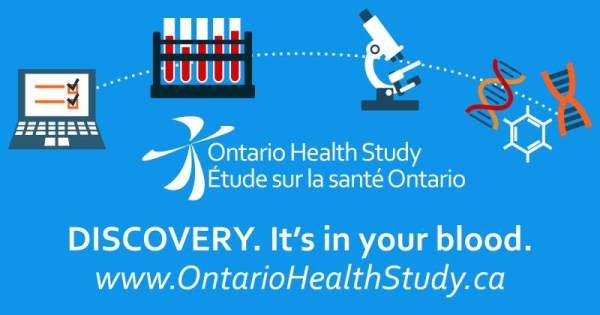 Ontario Health Study Banner
