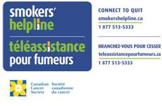 Smokers Helpline Logo