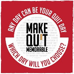 Make Quit Memorable Logo