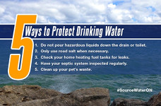 Protect Drinking water poster